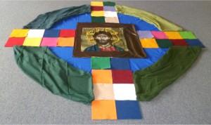 Der Heilige Georg und das Kreuz